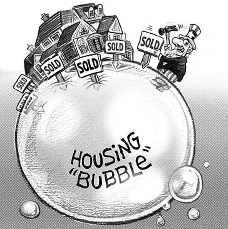 Housing Bubble Bursting